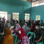 Masyarakat Kampung Mahabang Antusias Ikuti Vaksinasi